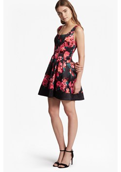 Allegro Poppy Satin Strappy Skater Dress