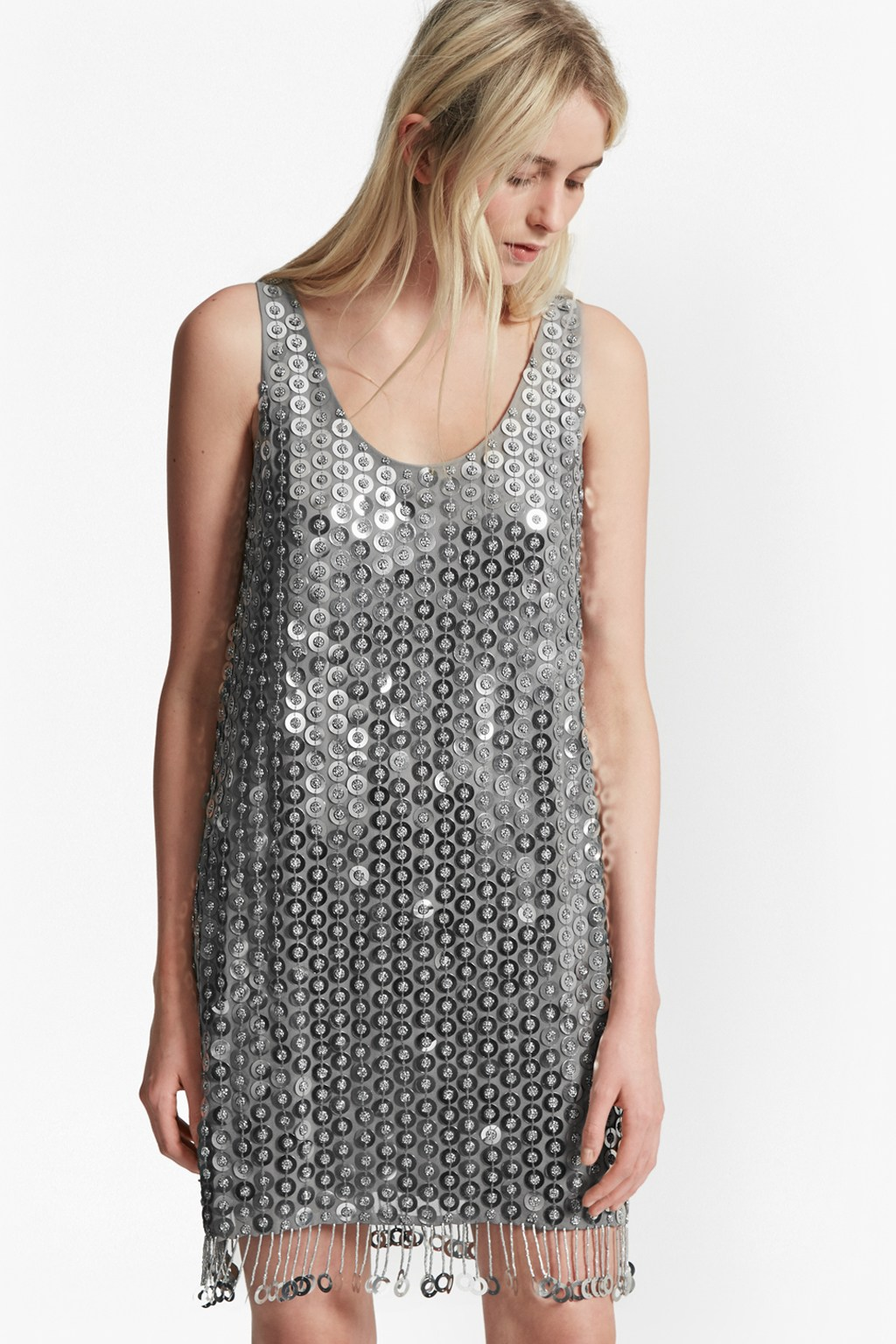 Cindy Sparkle Sequin Dress | Collections | French Connection