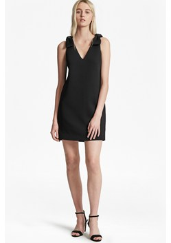 Token Shoulder Scuba Dress