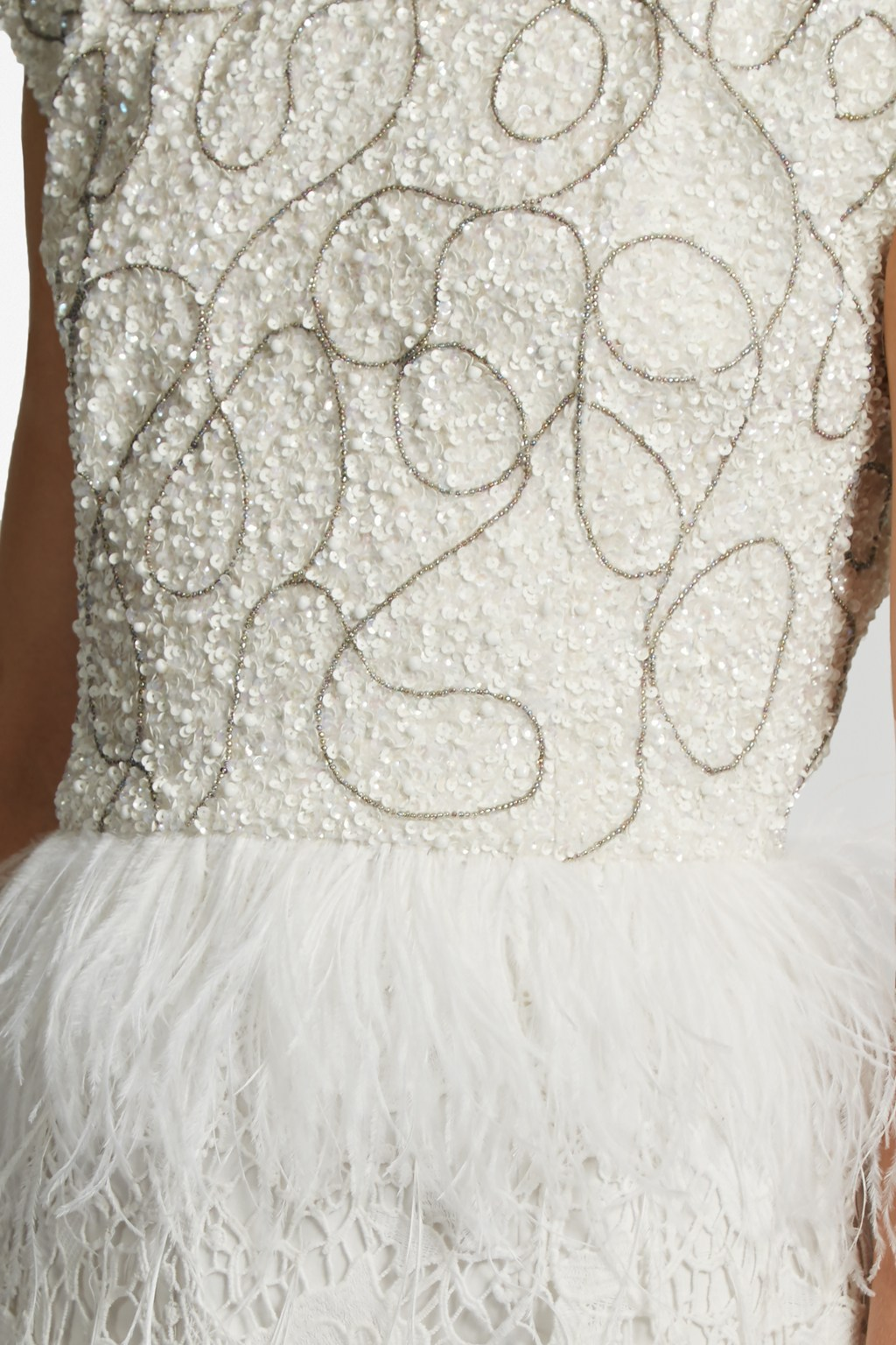 d8ad986a36e Snow Spell Feather Beaded Dress. loading images... loading images...  loading images.