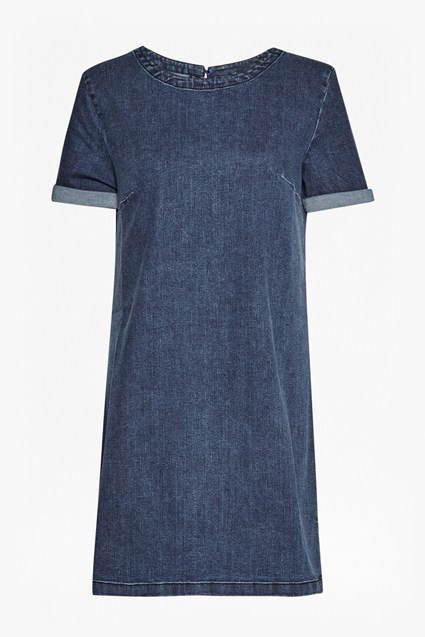 Modal Denim Dress