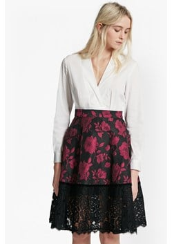 Beatrice Brocade Shirt Dress