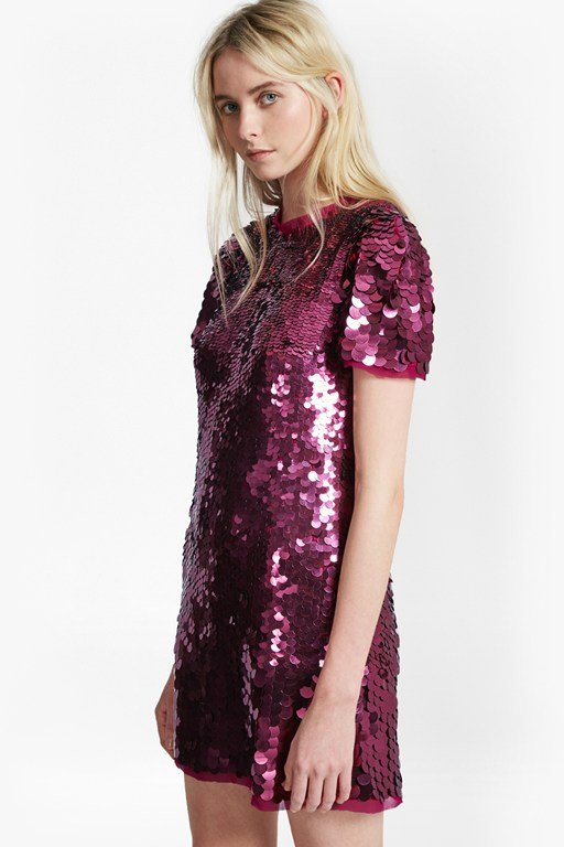 safi sequin tunic dress