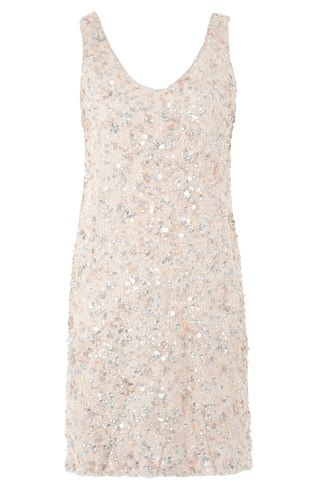 Flash Sequins Strappy Dress