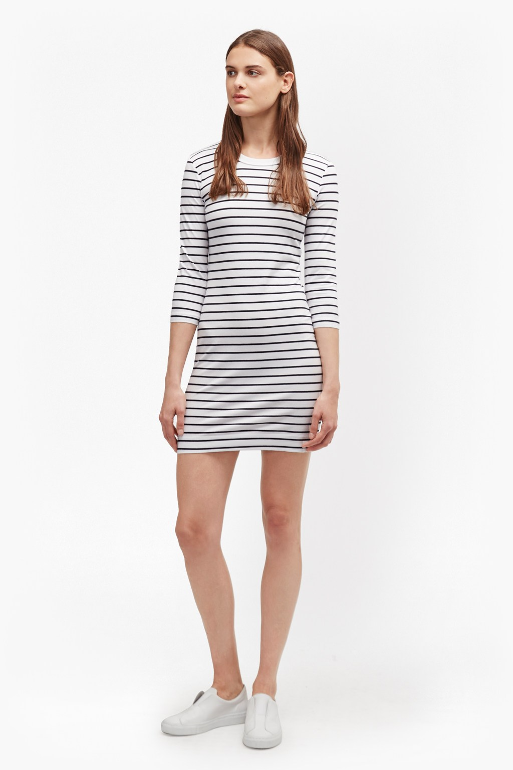 15abb222d62c7 Tim Tim Stripe Dress | Collections | French Connection