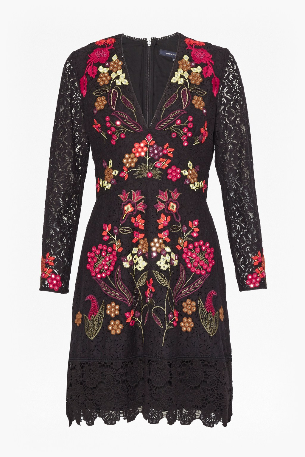 Legere Lace Floral Embroidered Dress. loading images. 2e7680570