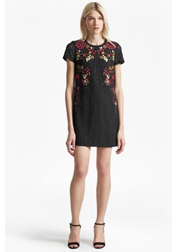 Legere Lace Floral Embroidered Tunic Dress