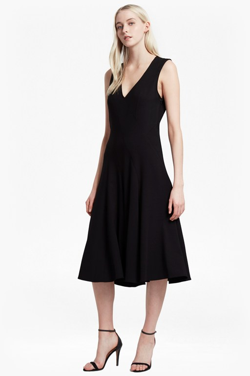 whisper ruth flared dress
