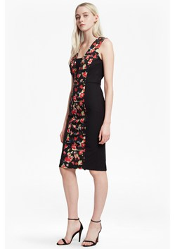 Bella Ottoman Floral Panelled Dress