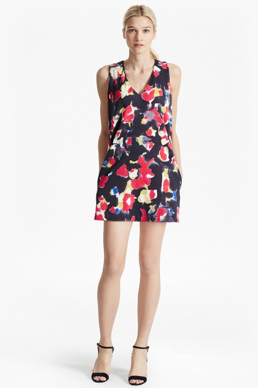 bella lula floral tunic dress