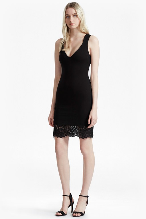 lula bodycon lace dress