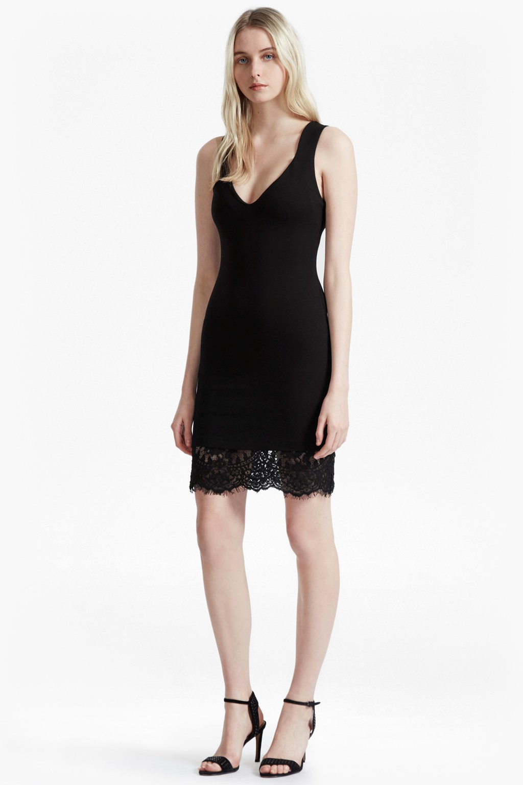 Lula Bodycon Lace Dress | Collections | French Connection