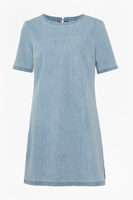Modal Denim A-Line Dress