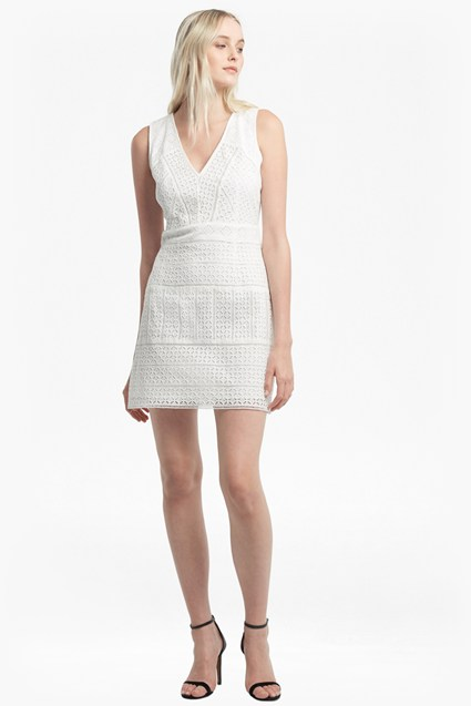 Schiffley Smmer Cage Lace Dress