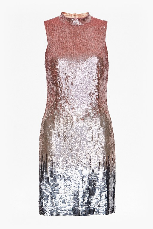starlight mini sequin dress