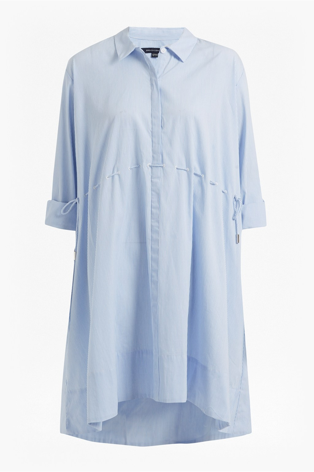 Smithson striped cotton shirt dress day dresses french for French connection shirt dress