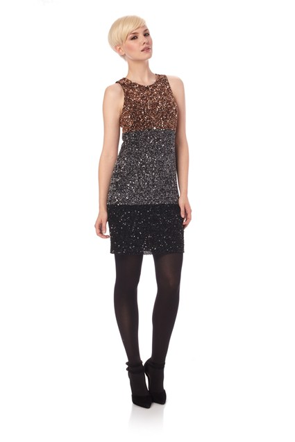 Spiegal Sequins Dress