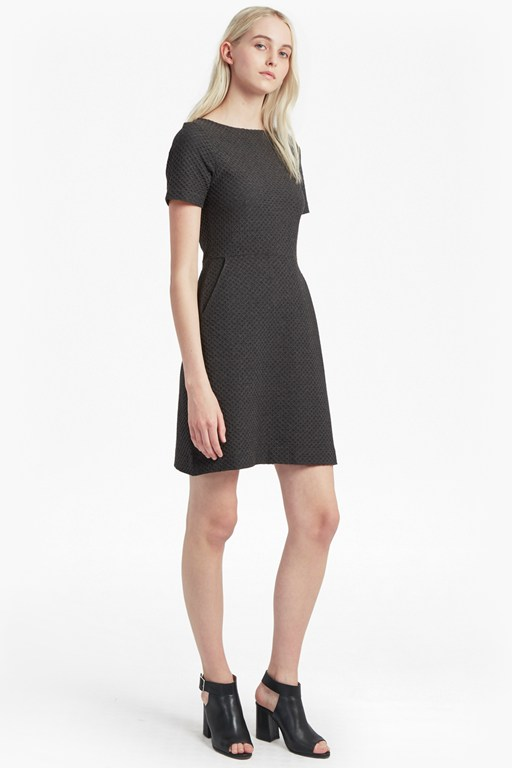 dixie textured dress