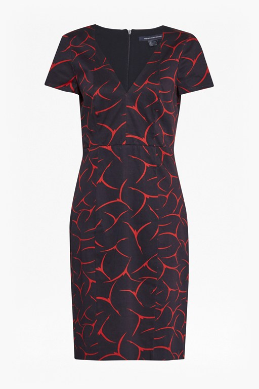 rosalind printed cotton dress