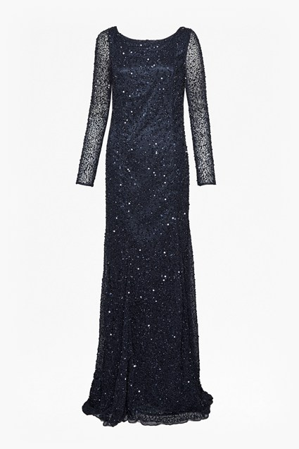 Helen Sequin Maxi Dress
