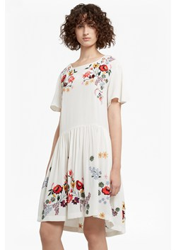 Alice Drape Embroidered Dress