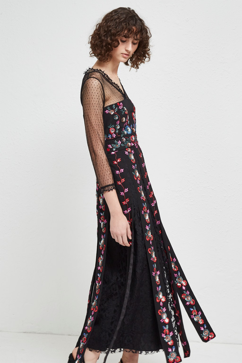 30c5d282838 Edith Floral Long Sleeved Maxi Dress. loading images... loading images.