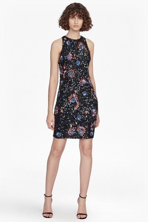 valerie sleeveless sequin dress