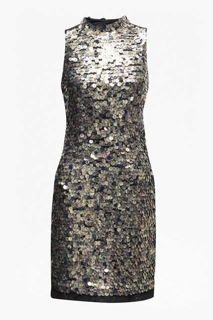 Moon Rock Sequin Tunic Dress