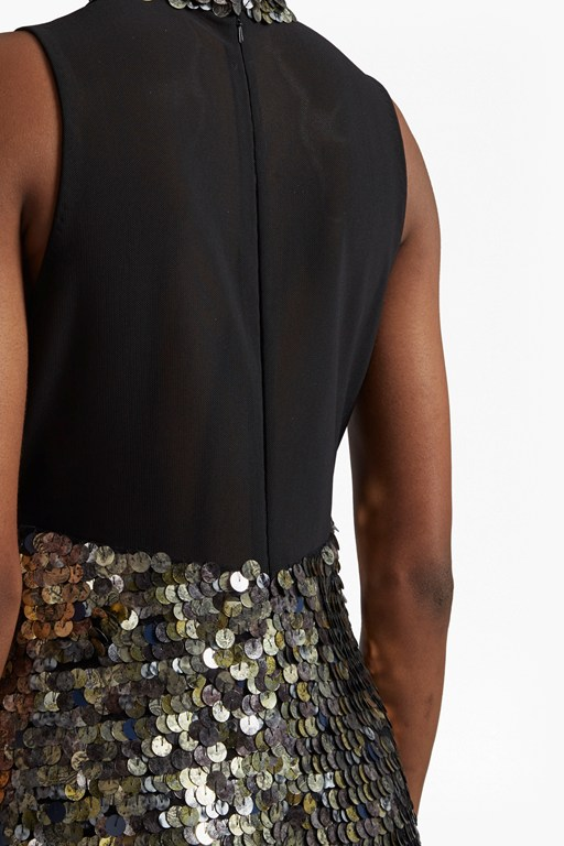 Complete the Look Moon Rock Sequin Tunic Dress