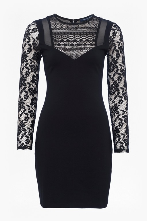 mia beau long sleeved bodycon dress