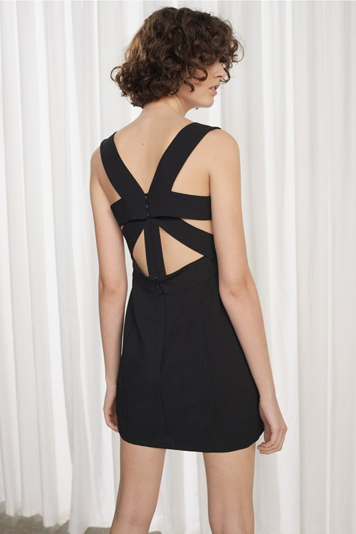 candice strappy dress