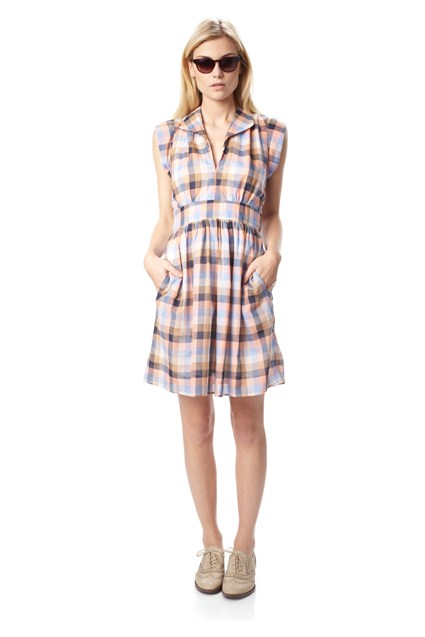 Cookie Checked Dress