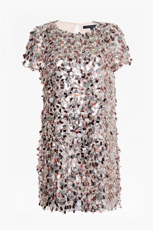 aimee sequin tunic dress