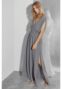 Jeunesse Stitch V Neck Maxi Dress