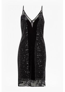 Iris Sequin Jersey Strappy Dress