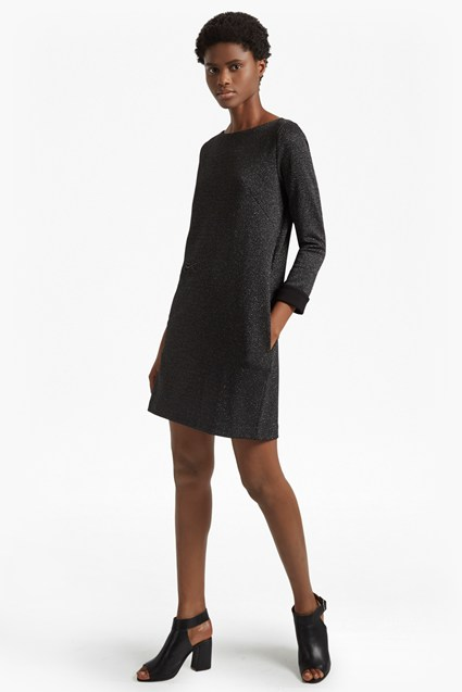 Louna Jersey Embellished Tunic Dress