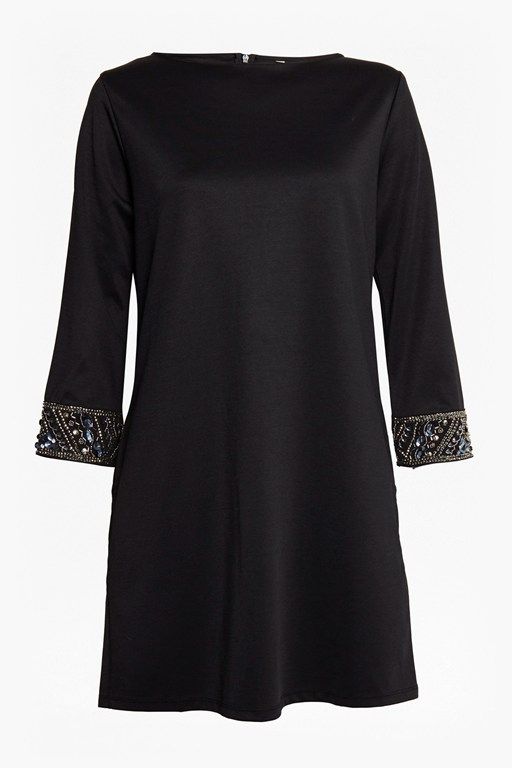 deja sequin tunic dress