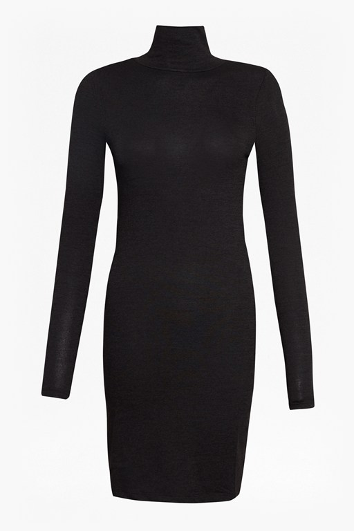 sweeter sweater high neck dress