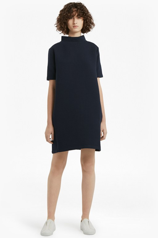 marin ottoman oversized jersey dress