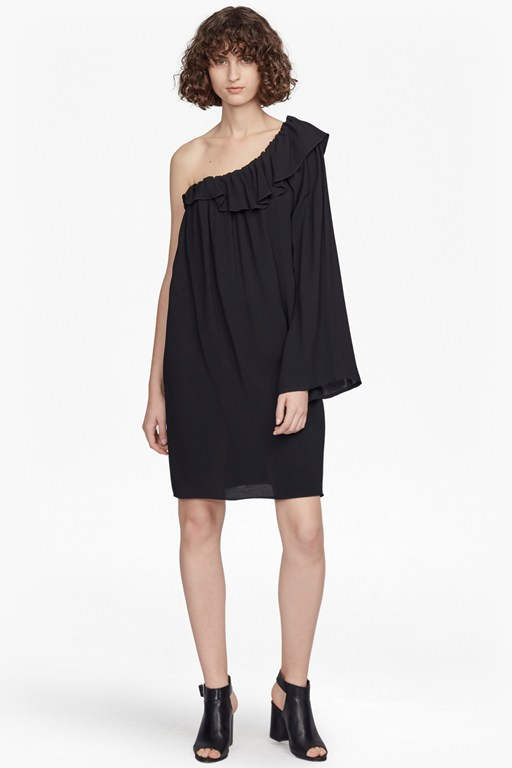 evening dew one-shoulder dress