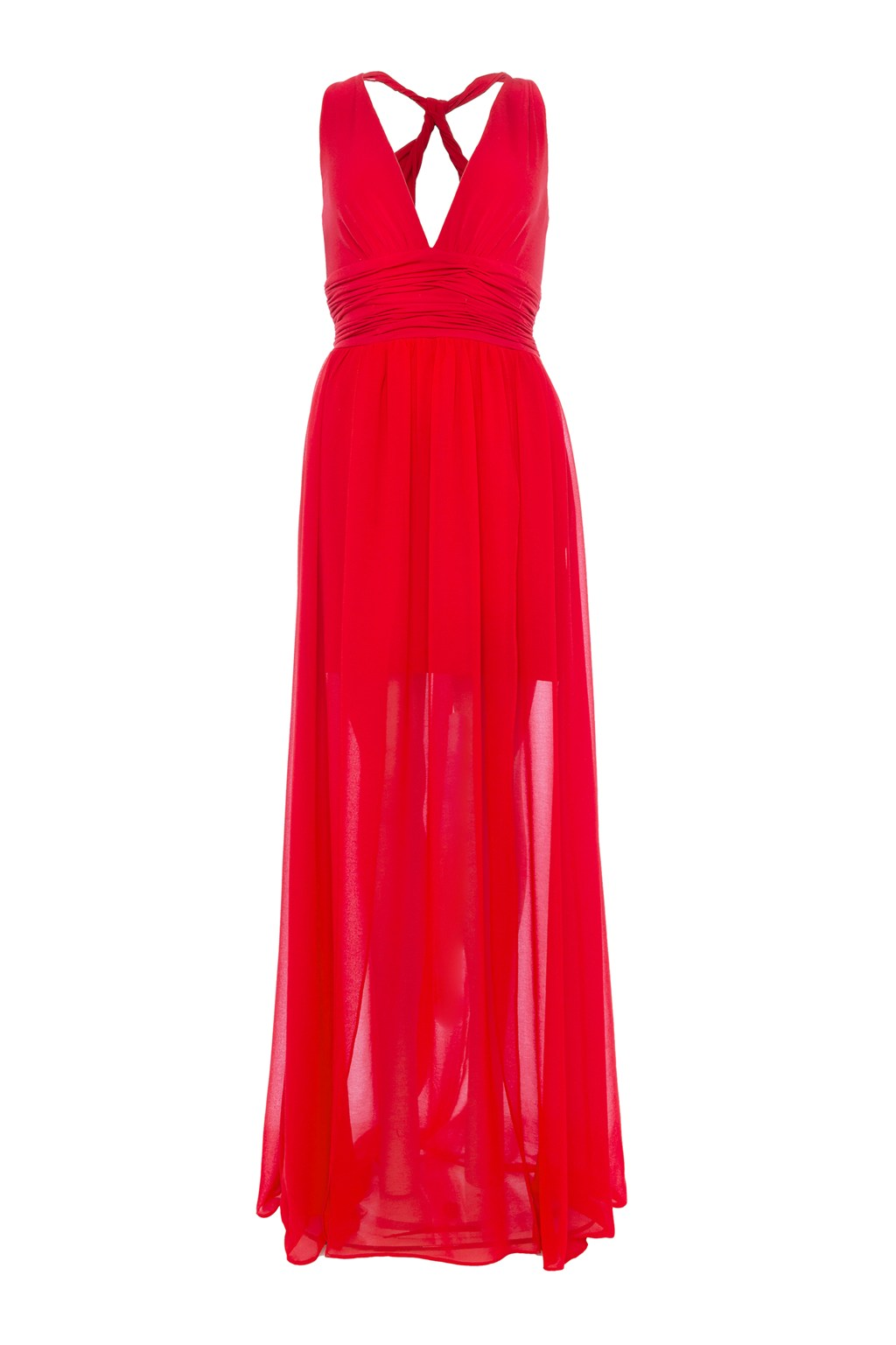 11fc87fb00a38 Andros Jersey Halter Maxi Dress. loading images.