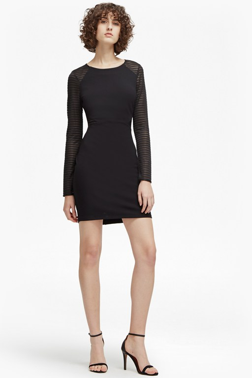 thiestis jersey bodycon dress