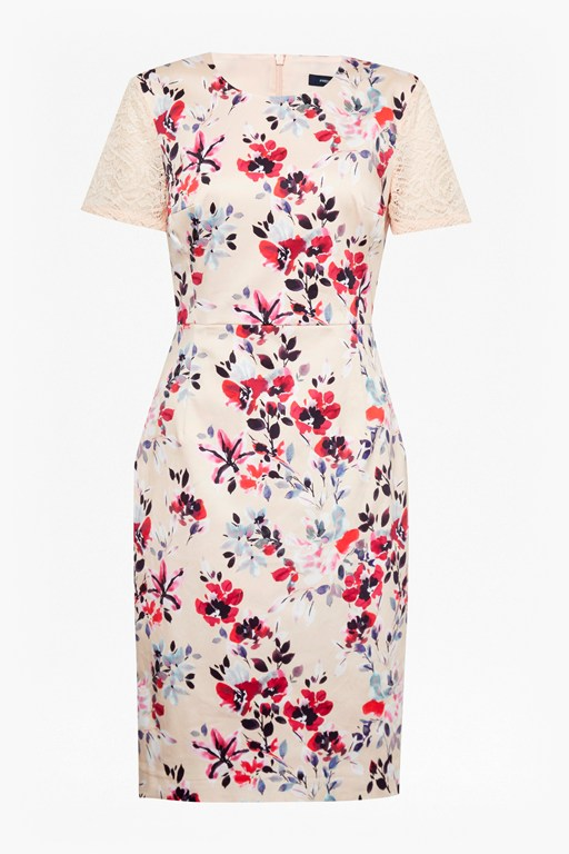 linosa cotton floral dress