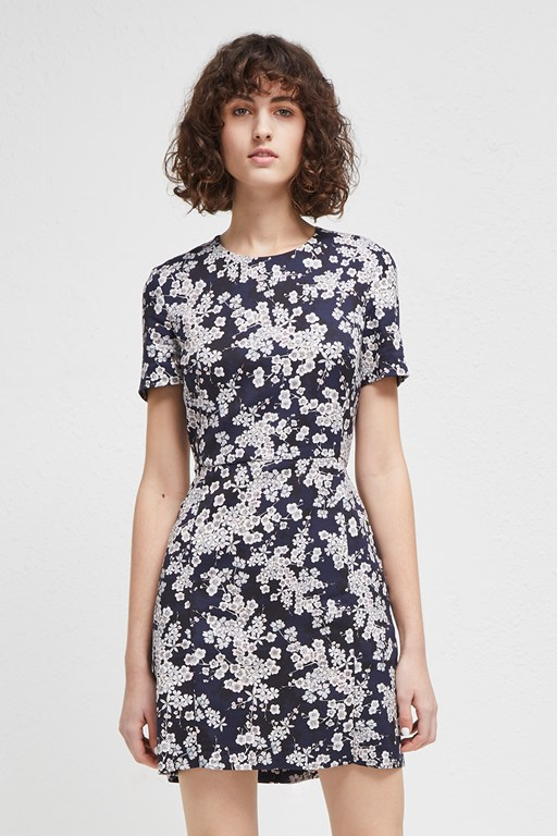 rishiri stretch floral dress