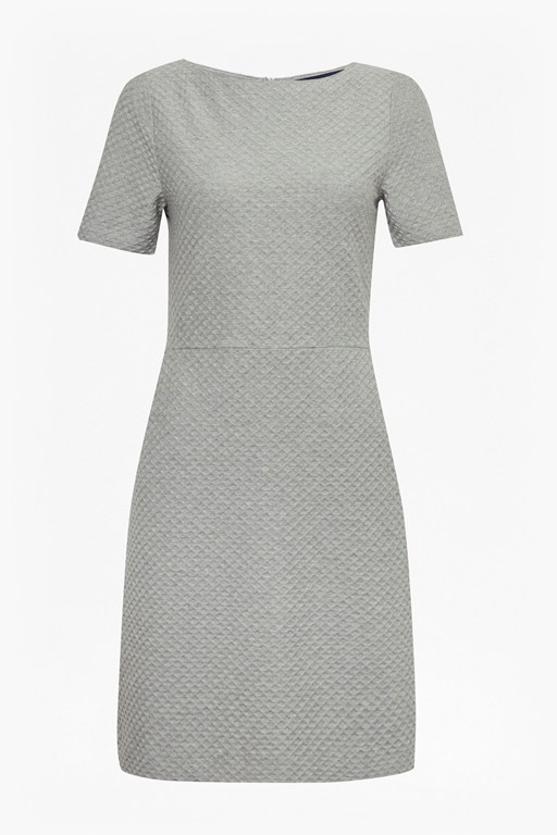 dixie texture fit and flare dress