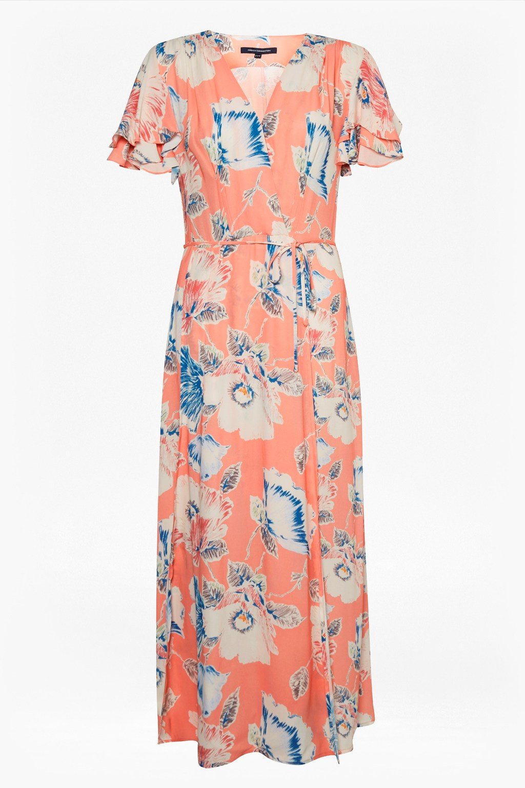9593bb56a1c Cari Crepe Midi Tea Dress | Collections | French Connection
