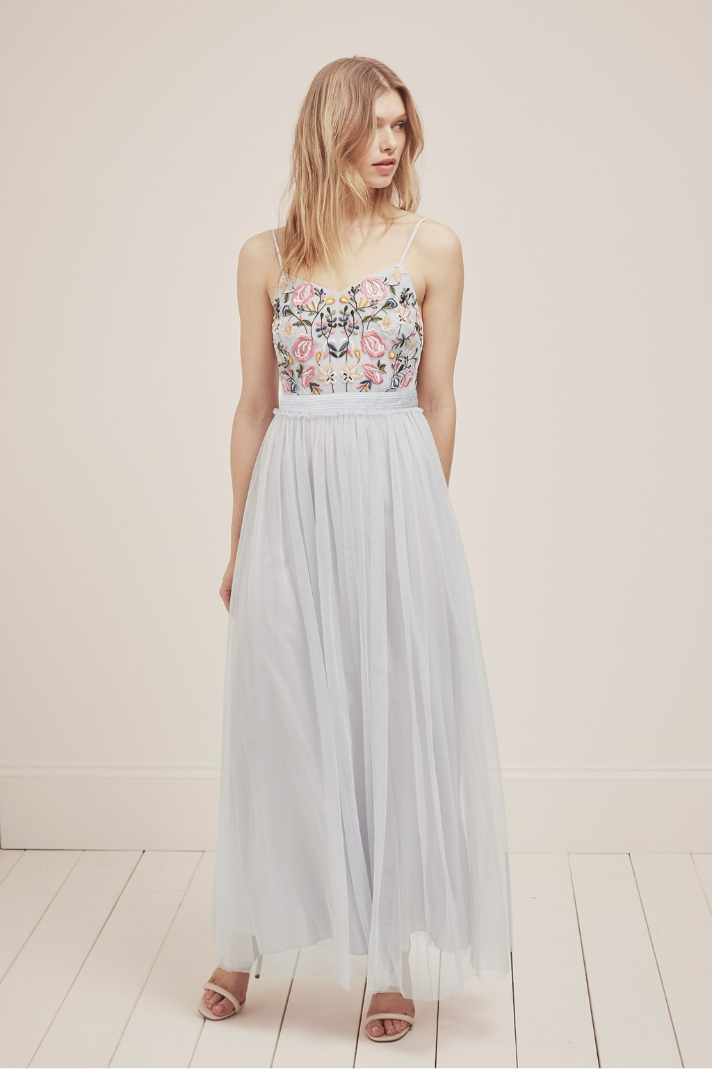 Genoa Embroidered Maxi Dress | Collections | French Connection