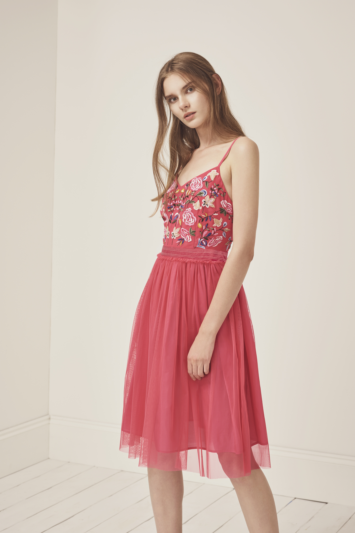 951206a3ae9e Genoa Embroidered Mini Dress | Collections | French Connection