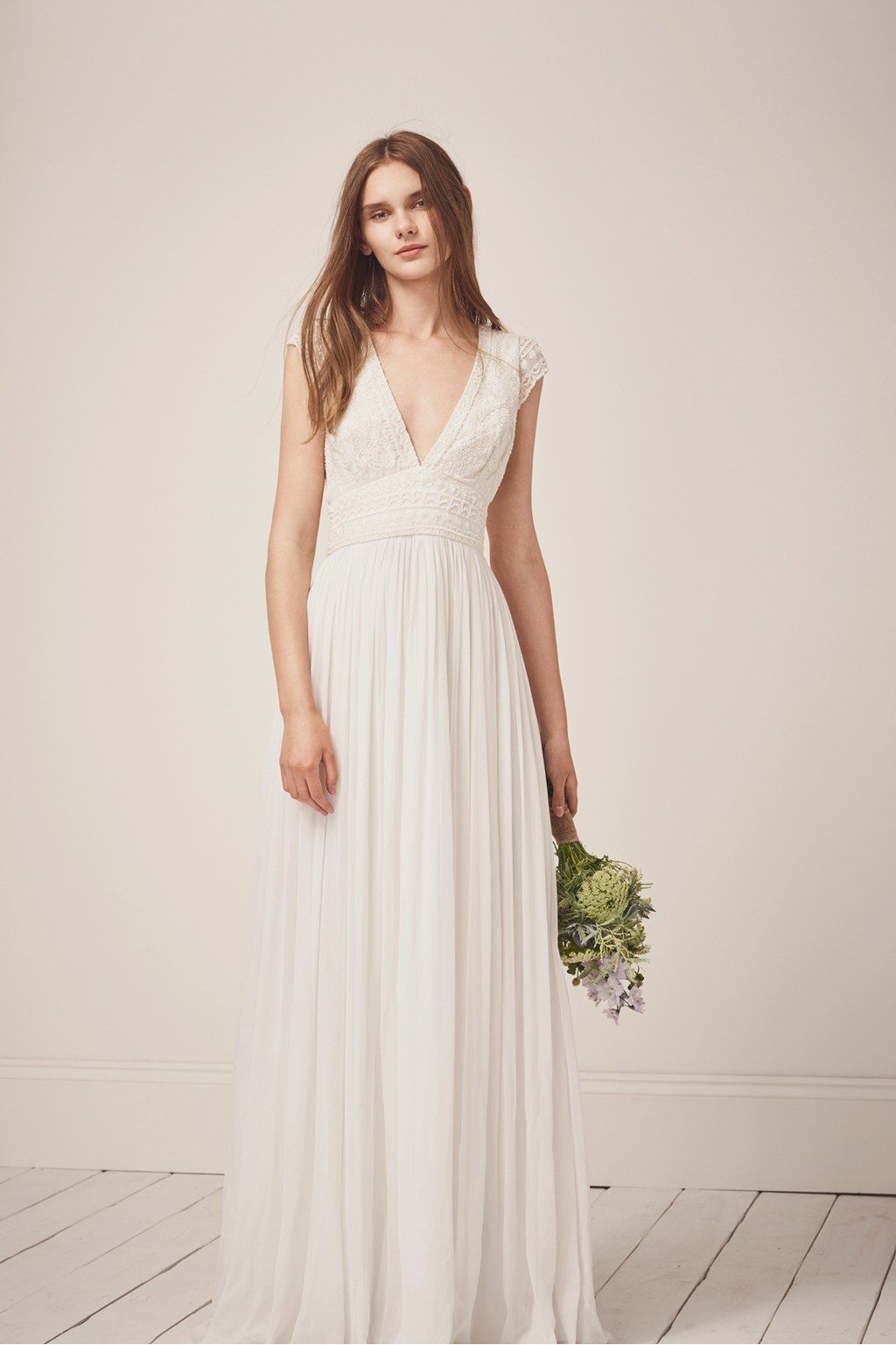 Palmero Embellished Wedding Dress | Collections | French Connection