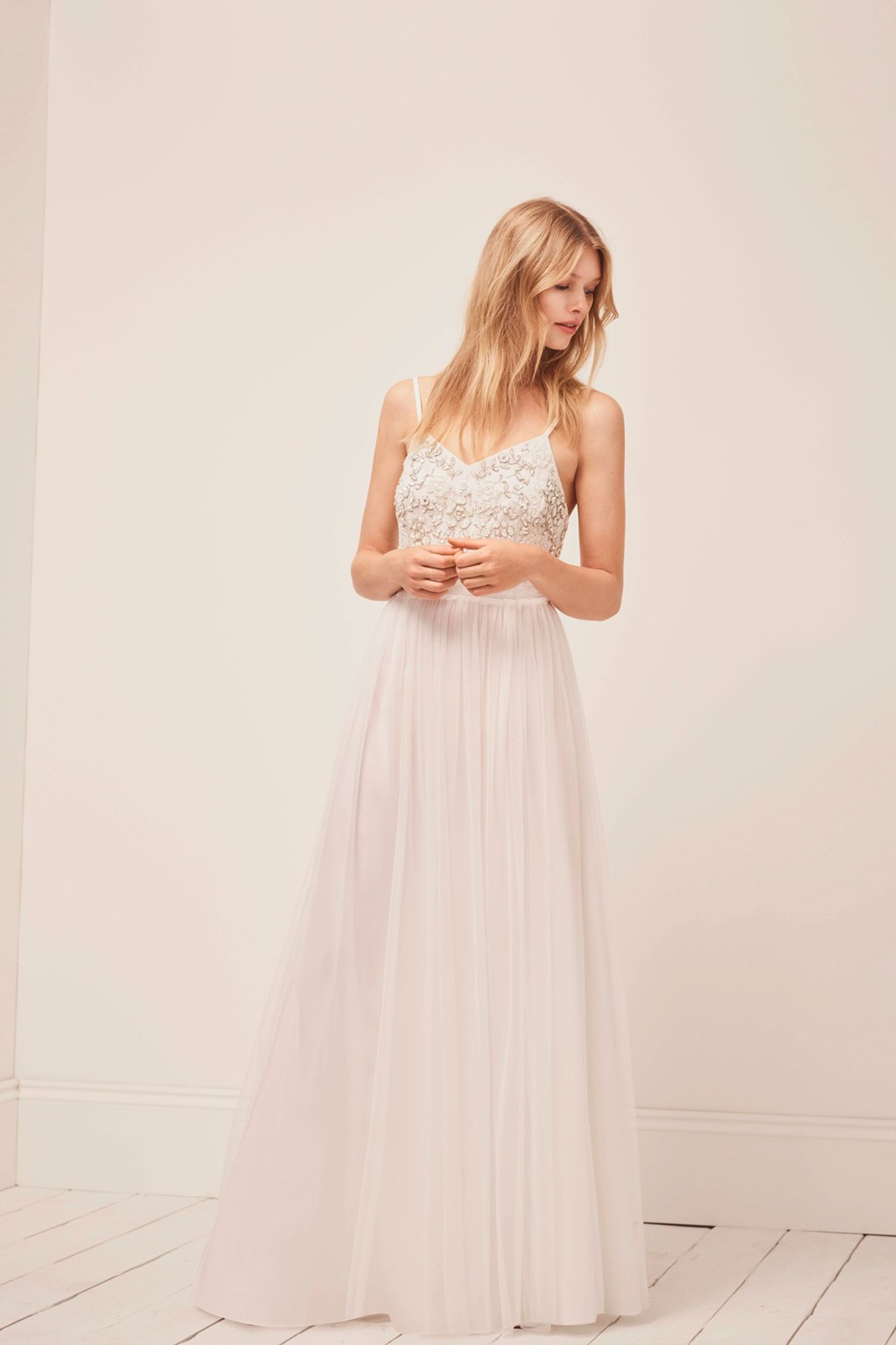 Genoa Embroidered Maxi Wedding Dress | Collections | French Connection